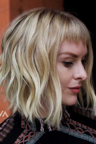 Wavy Medium Bob Hair Styles Picture 6