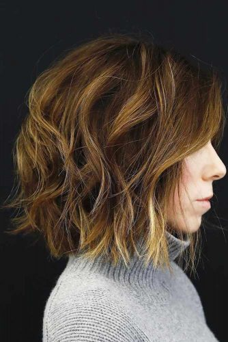 Wavy Medium Bob Hair Styles Picture 4