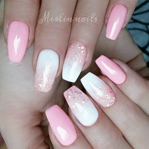 Newest Pink And White Nails Designs picture 4