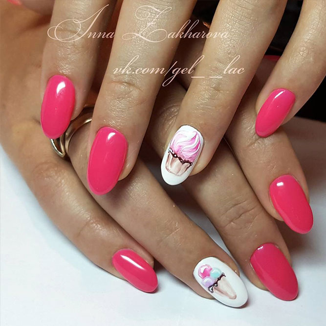 Bright Pink Nails that You Will Want to Try Picture 6