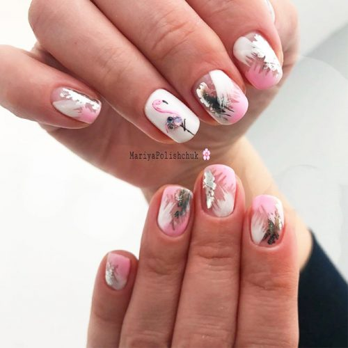 Newest Pink And White Nails Designs picture 5