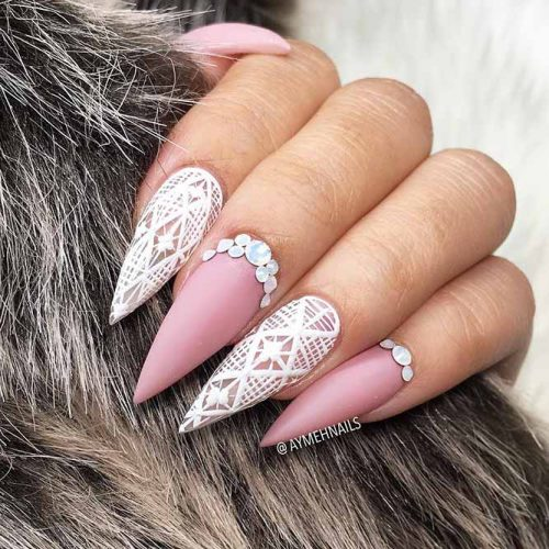 Beautiful Light Pink Nails for Classy Look Picture 6