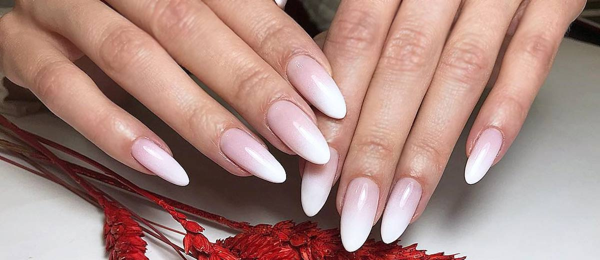 24 Pink And White Nails Trends For Spring And Summer 2018