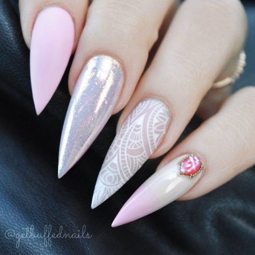 Beautiful Light Pink Nails for Classy Look Picture 5