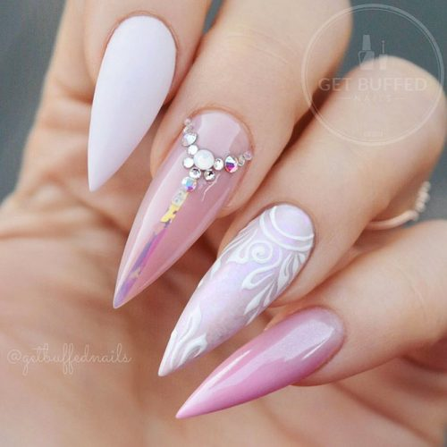 Beautiful Light Pink Nails for Classy Look Picture 3