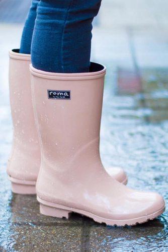 Classic Women's Rain Boots picture 2