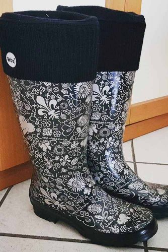 Rubber Rain Boots with Prints picture 3