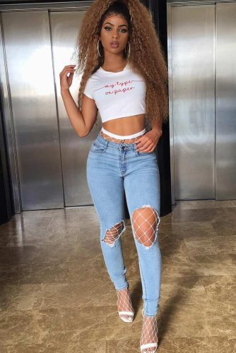 Newest Sexy Outfit Ideas with Leggings or Jeans picture 6