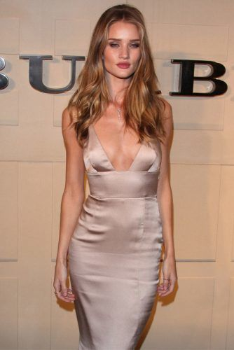 Satin Top Bra Dress ##rosiehuntington #satindress