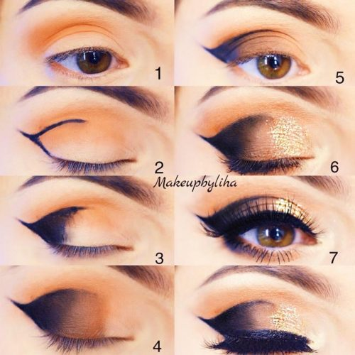 Step by Step Smokey Eye Makeup for Hazel or Green Eyes picture 2