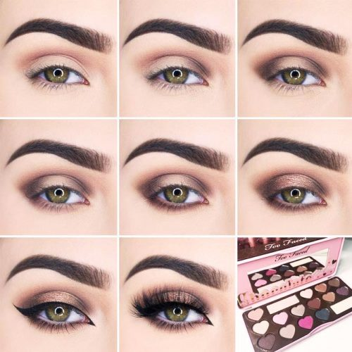 Step by Step Smokey Eye Makeup for Hazel or Green Eyes picture 1