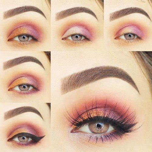 Step by Step Smokey Eye Makeup for Hazel or Green Eyes picture 3