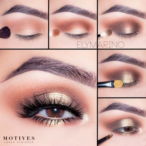 How to do Smokey Eye for Girls with Brown Eyes picture 1