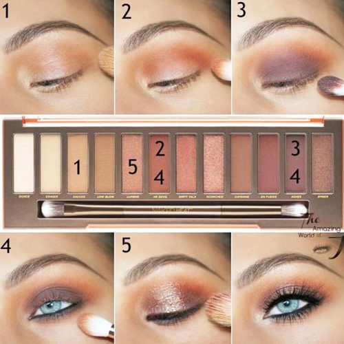 How to do a Smokey Eye for Blue Eyes picture 3