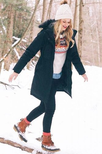 Comfy Womens Snow Boots Outfits picture 4