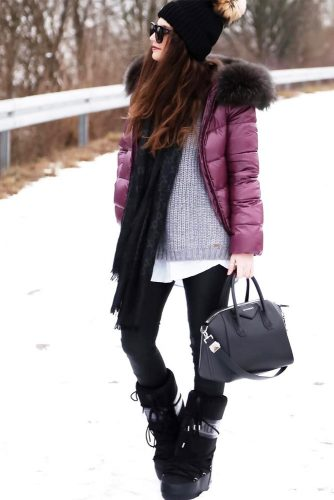 Best Women's Snow Boots Outfits picture 5