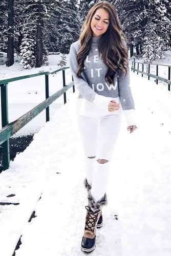 Best Women's Snow Boots Outfits picture 4