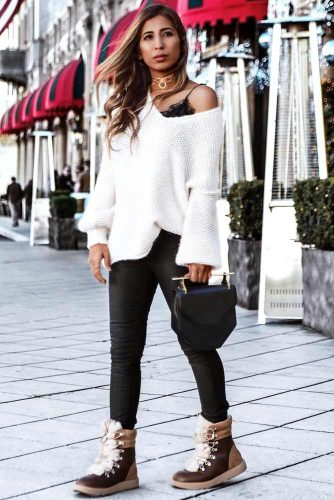Newest Snow Boots Outfit Ideas picture 5