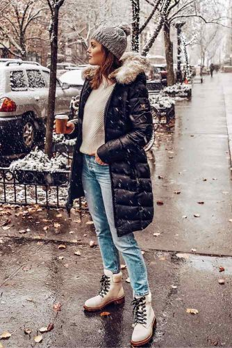 Newest Snow Boots Outfit Ideas picture 6