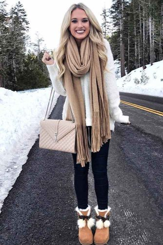 Newest Snow Boots Outfit Ideas picture 3