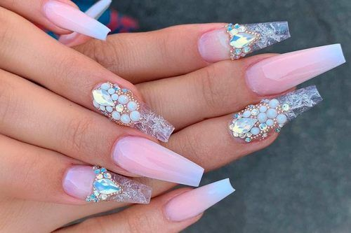 Beautiful Coffin Nail Designs Ideas