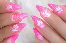 Pink And White Nails Trends For Spring And Summer