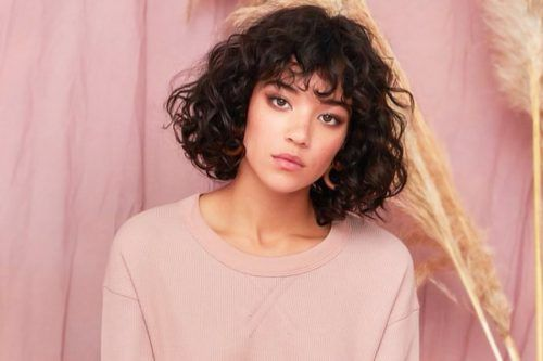 Stylish Short Curly Hair Looks