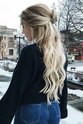 Blonde Shades for Beautiful Winter Look Picture 5