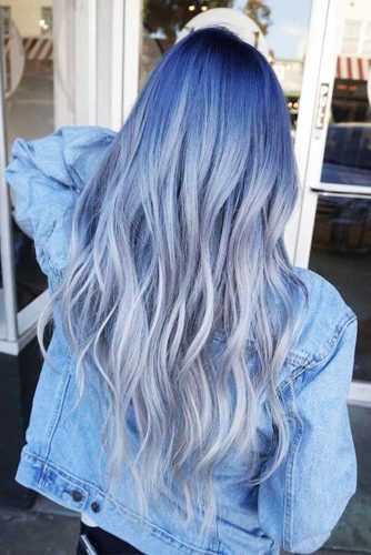 Soft Blue Colors for Amazing Winter Look Picture 3
