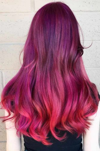 Burgundy Hair Colors for Winter Holidays Picture 3