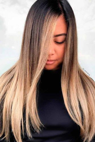 Sleek Ombre Hair #sleekhair #ombrehair
