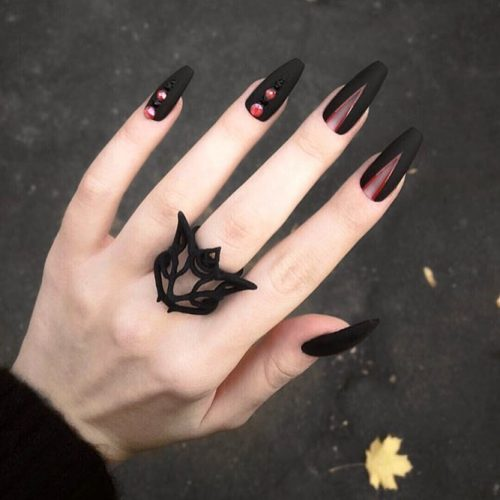 Beautiful Winter Matte Nail Designs Picture 6