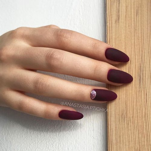 Beautiful Winter Matte Nail Designs Picture 5