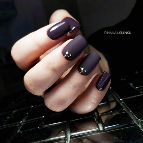 Beautiful Winter Matte Nail Designs Picture 2