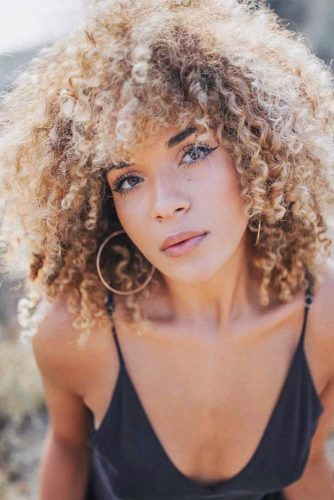 Kinky Bob Hairstyles for Natural Hair Picture 1