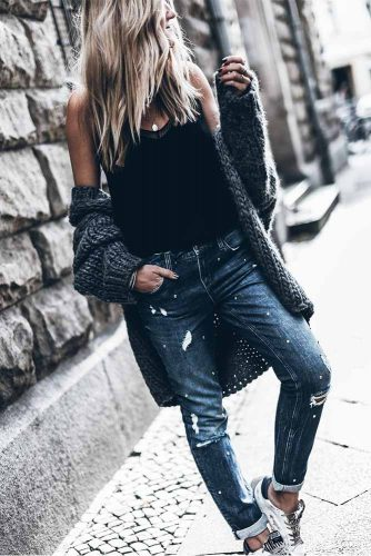 Jeans in Darker Shades are Always Winning picture 3