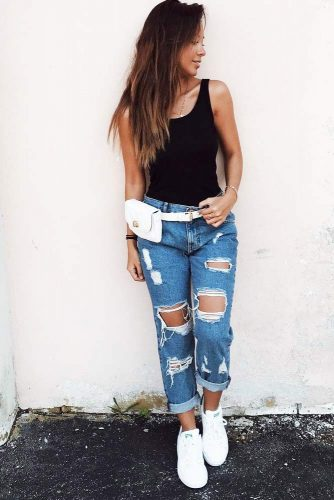 Street Style Inspiration - How To Match Boyfriend Jeans picture 1