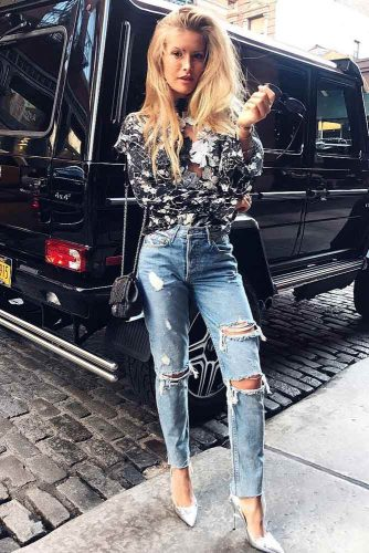 Street Style Inspiration - How To Match Boyfriend Jeans picture 5