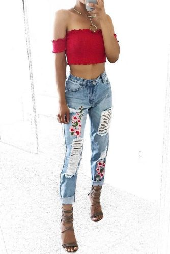 Street Style Inspiration - How To Match Boyfriend Jeans picture 3