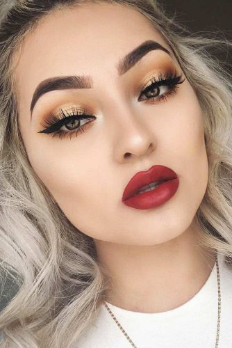 Perfect Eyebrows Shape With Makeup Ideas picture 1