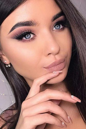 Perfect Eyebrows Shape With Makeup Ideas picture 2