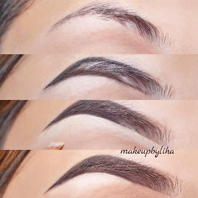 Perfect Eyebrow Shapes For Heart and Square Face Shapes picture 5