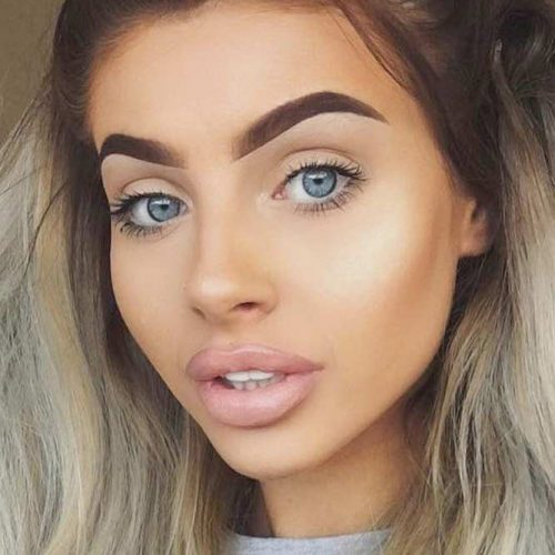 Perfect Eyebrow Shapes For Heart and Square Face Shapes picture 4