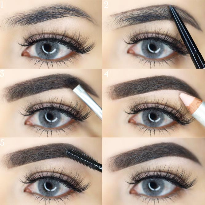 How to Choose Perfect Eyebrows Shape for Oval and Round Faces picture 2
