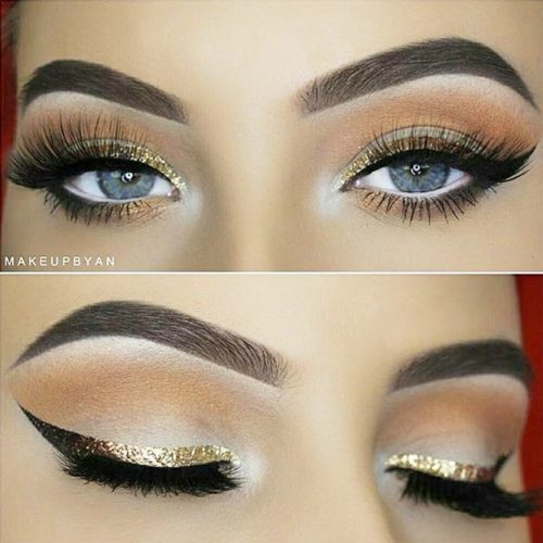 Colorful And Glitter Eyeliner Styles picture 4