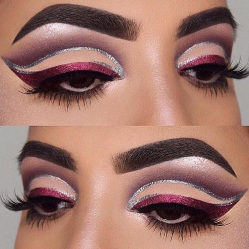 Colorful And Glitter Eyeliner Styles picture 3