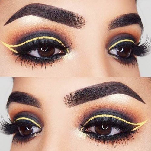 Colorful And Glitter Eyeliner Styles picture 1