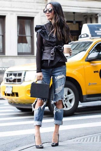 How to Choose Boyfriend Jeans for Women picture 1