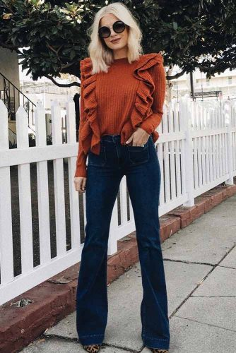 Flare Jeans for Women picture 3