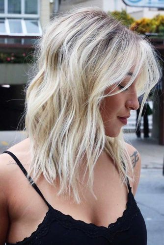 Wavy Long Bob Hair Ideas Picture 3